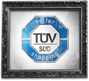 TÜV SÜD safer-shopping Siegel